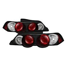 Rsx Cup Holder Light Bulb Acura Rsx 02 04 Euro Style Tail Lights Black In 2019