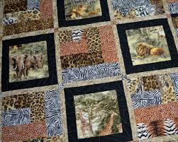 Patchwork Quilt Featuring African Safari by KimsQuiltingStudio ... & Keepsake quilting Adamdwight.com