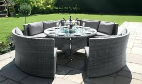 patio furniture table and chairs images of round rattan garden furniture rattan dining sets rattan garden