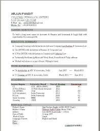 Breathtaking Resume For Ca Articleship Training 73 For Your Resume  Templates Word With Resume For Ca