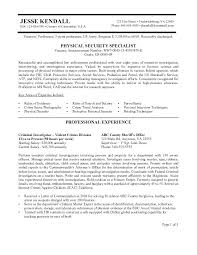 Examples Of Federal Government Resumes Federal Government Resume