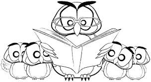 Owl Coloring Cute Owl Coloring Pages Printable Children Barn