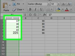 how to make a histogram in excel how to create a histogram in excel with example histograms
