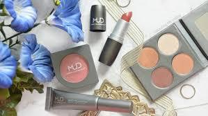 the makeup designory eye colour sheer lipstick cheek colour and volumizing maa