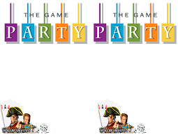 Free Game Night Printable Invite Paint Yourself A Smile