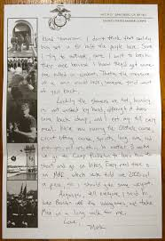 Letter Two Letters From Marine Corps Boot Camp Marines Boot