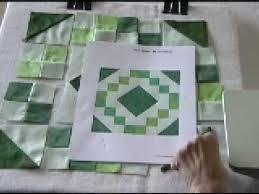 Irish Chain Quilt Block - YouTube & Irish Chain Quilt Block Adamdwight.com