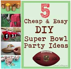 Super Bowl Party Decorating Ideas 60 Cheap and Easy Super Bowl Party Ideas 7