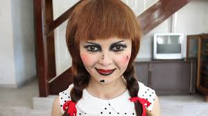 the conjuring annabelle doll makeup tutorial