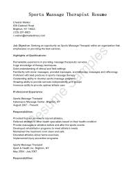 Spa Therapist Resume Best Of Spa Therapist Resume Sample Writing