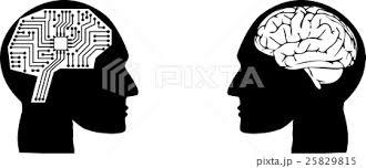 人工知能 人間イラストのイラスト素材 25829815 Pixta