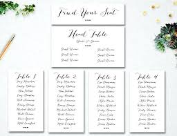 Table Number Template Wedding Templates Free For Cards Reception