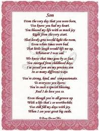 Happy Birthday poems for great sons   Son poem is about a special ...