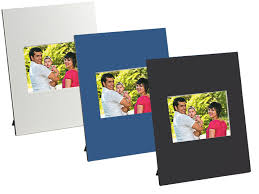 beveled cardboard easel picture frame cream for horizontal 3 5x2 5 25 pack