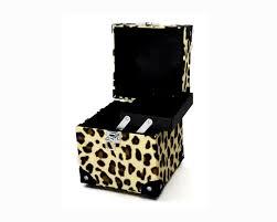 makeup box aluminium metal box cosmetic case professional makeup trunk collection box fashion leopard print jewelery box aliexpress