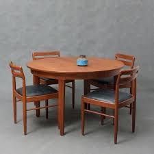 vintage round danish teak dining table 1960s design market vintage round teak dining table danish teak