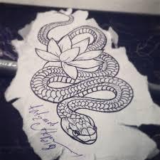 тату змея рисунки тату татуировки и эскиз тату