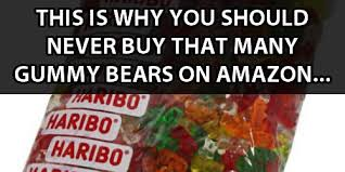 Guys Order 5 Pounds Of Gummy Bears, Hilarity Ensues... - quickmeme via Relatably.com