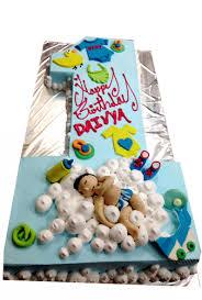 Simple 1st Birthday Cake At Rs 1200 Kilogram Cake Id 16316395648