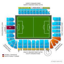 Stade Saputo 2019 Seating Chart