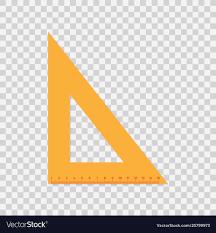 Material Design Stock Images Triangular Ruler Flat Material Design