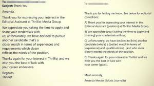 Woman Returns Job Rejection Email With Corrections ABC News Best Resume Rejection Email