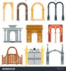 Arch Design Arch Design Architecture Construction Frame Classic Stock