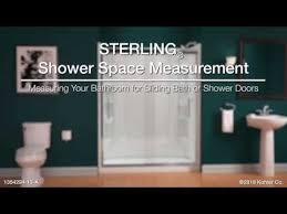 finesse frameless sliding bath door