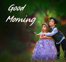 cute baby couple good morning pic pix