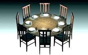 round dining tables for 6 8 person table seater