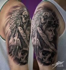 девушка с тигром на голове и черепом на плече добавлено кирилл самарин