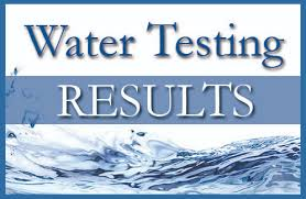 Image result for WATER TESTING RESULTS