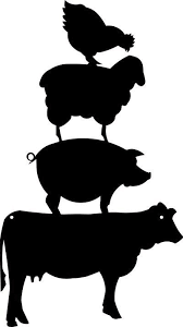 cow silhouette clip art. Simple Cow Cow Silhouette Pig Clip Art Download Free Versions Of The Image  In  ClipartBarn Inside Silhouette Clip Art O