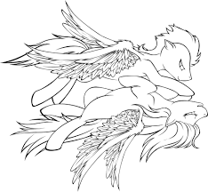 Small Picture My Little Pony Rainbow Dash Coloring Pages To Print Coloring
