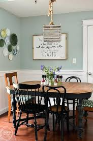 modern farmhouse dining room room makeover completed for under including a new table and chairs vintage