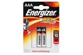 <b>Батарейки ENERGIZER</b> MAX AAA, <b>2 шт</b> (LR3) — купить с ...