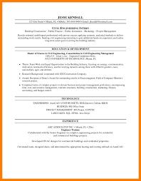 Internship Resume Template Download Creativenspiration Sample