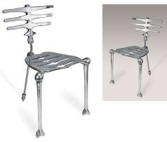 uncomfortable chair. Brilliant Uncomfortable The Skeleton Chair Bad To Bone Uncomfortable_Chairs_12 For Uncomfortable Chair