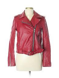 pin it zara basic women faux leather jacket size l