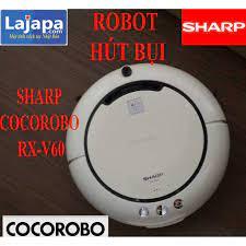 Robot hút bụi Sharp cocorobo RX-V60 robot hut bui lau nhà tự động robot hút  bụi thông minh giá rẻ Hàng Nhật -LAJAPA tại Hà Nội