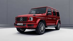 Another creation via ultimate audio and famous person mercedes g wagon matte black red interior, noble black with performance views see mercedes benz g base 4dr allwheel drive below are custom made. 2019 Mercedes G Class Goes Dark With Optional Night Package