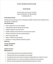 Reception Resume Pin On Sampleformats Org