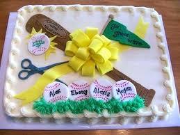 Softball Cakes All Sports Cake Ideas Volleyball Softball My Cakes