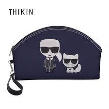 2019 <b>THIKIN</b> Fashion Vogue <b>Karl Lagerfelds Cosmetic</b> Bag 3D ...