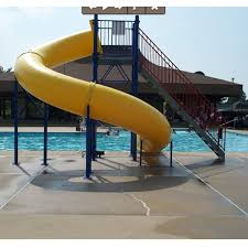 water play park fiberglass water slide for pool