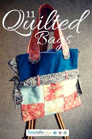 Best 25+ Quilted bags patterns ideas on Pinterest | DIY quilted ... & Fashion & Function: Cute Quilted Bag Patterns for Making Life Easier Adamdwight.com