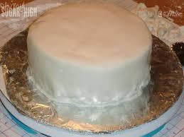 Wordless My First Fondant Cake Oh My Sugar High Circle Fondant Cake