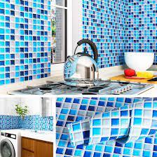 Livelynine Mosaic Backsplash Wallpaper ...