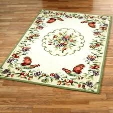 round rooster rugs home interior