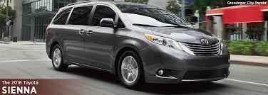 New 2016 Toyota Sienna Model Info | Minivan Research | Chicago, IL